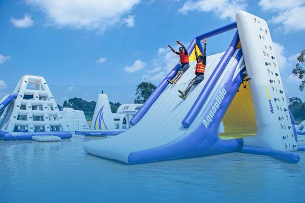 the Maji Magic Aqua Park eXPLOVAGANZA