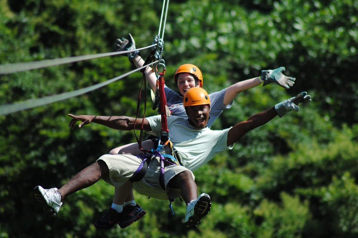 Ziplining Kenya